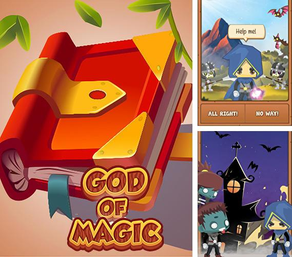 Zusätzlich zum Spiel Box-Star für Android-Telefone und Tablets können Sie auch kostenlos God of magic: Choose your own adventure gamebook, Gott der Magie: Wähle dein eigenes Abenteuerbuch herunterladen.