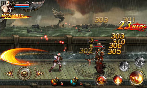 Screenshots von God of war: Chains of Olympus für Android-Tablet, Smartphone.