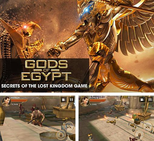 Además del juego Lara Croft: Carrera por las reliquias para teléfonos y tabletas Android, también puedes descargarte gratis Gods of Egypt: Secrets of the lost kingdom. The game.
