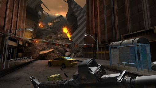 Screenshots do Godzilla: Strike zone - Perigoso para tablet e celular Android.