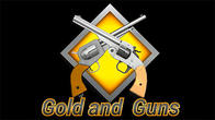 Gold and guns: Western. World of outlaws. Online