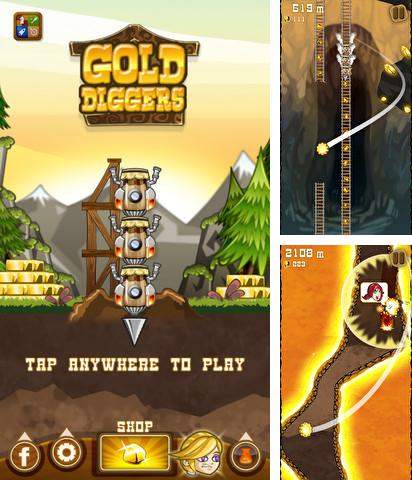 In addition to the game One tap hero for Android phones and tablets, you can also download Gold diggers for free.