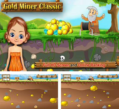 In addition to the game Gold Miner for Android phones and tablets, you can also download Gold Miner Classic HD for free.