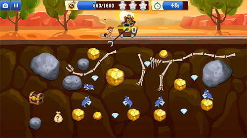 Juega a Gold miner world tour para Android. Descarga gratuita del juego Cazafortunas: Gira Mundial.