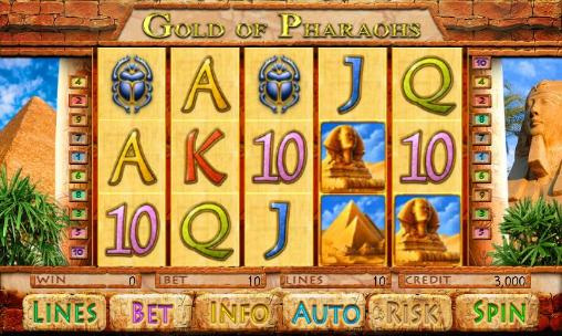 Gold of pharaohs screenshot 1