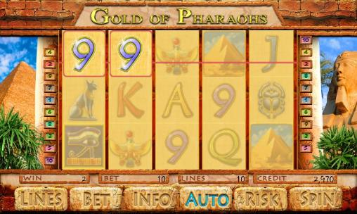 Gold of pharaohs screenshot 2