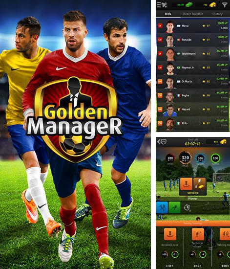In addition to the game Top Eleven for Android phones and tablets, you can also download Golden manager for free.