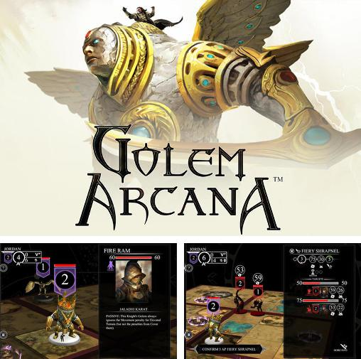 In addition to the game World League Zombies Run for Android phones and tablets, you can also download Golem arcana for free.