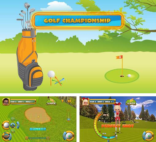 In addition to the game Golf championship for Android, you can download other free Android games for Meizu M8c.