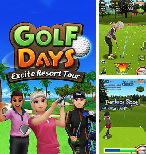 En plus du jeu RUGOLF THD pour téléphones et tablettes Android, vous pouvez aussi télécharger gratuitement Jours du golf: Tour excitant balnéaire, Golf days: Excite resort tour.