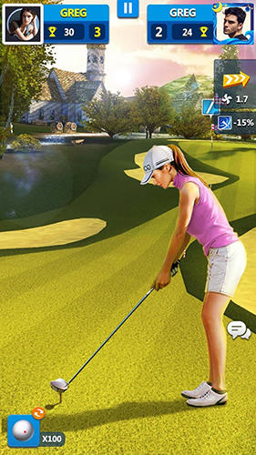 Golf master 3D screenshot 1