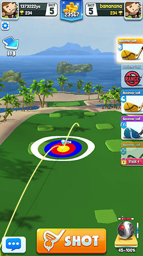 Screenshots von Golf rival für Android-Tablet, Smartphone.