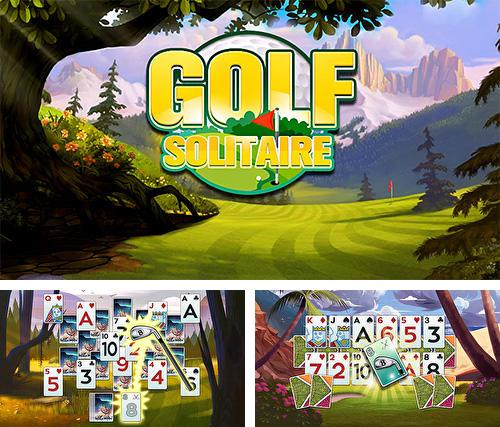 Golf solitaire: Green shot