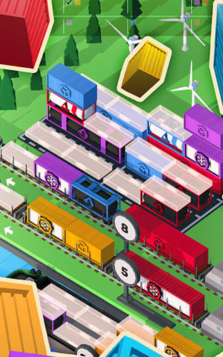 Screenshots von Goods train fever für Android-Tablet, Smartphone.