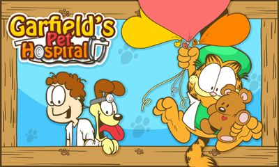 Garfield's pet hospital poster