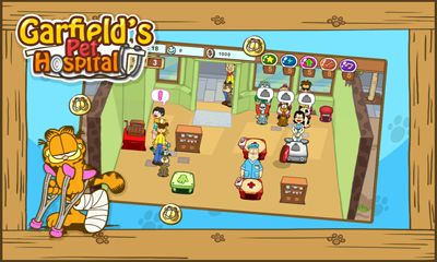 Download Garfield's pet hospital Android free game.