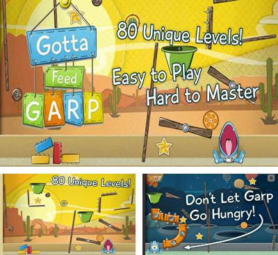 In addition to the game Doodle Bowling for Android phones and tablets, you can also download Gotta Feed Garp for free.