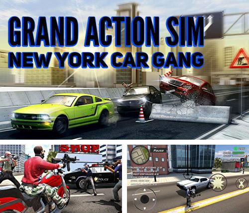 Alem do jogo Medalha de valor 5: Multiplayer para telefones e tablets Android, voce tambem pode baixar Simulador de ação grande: Gangue de carro de Nova York, Grand action simulator: New York car gang gratuitamente.
