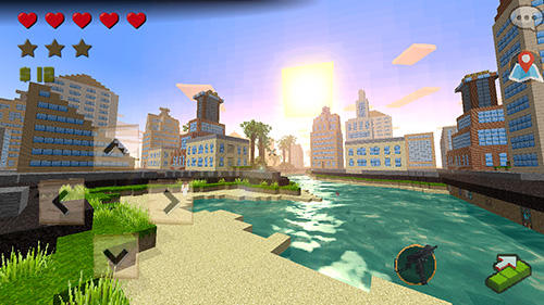 Grand craft auto: Block city screenshot 1