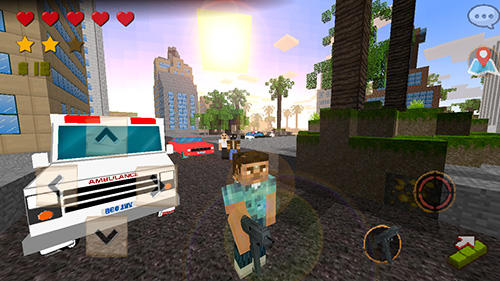 Grand craft auto: Block city screenshot 2