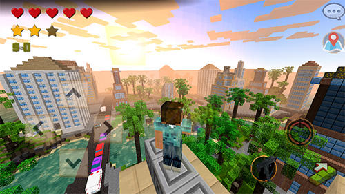 Grand craft auto: Block city screenshot 5