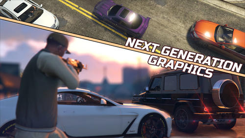 Grand racing auto 5 screenshot 1