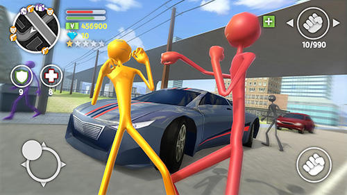 Grand stickman auto 5 screenshot 2