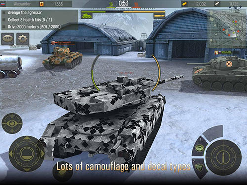 Grand tanks: Tank shooter game screenshot 1