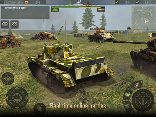 Grand tanks: Tank shooter game screenshot 3