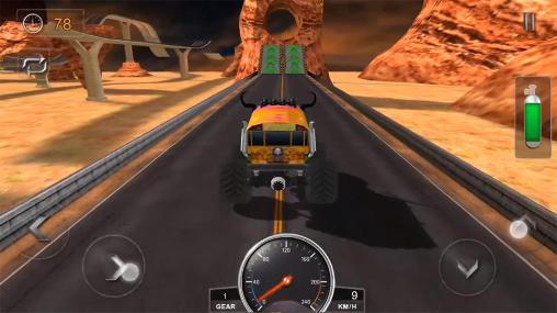 Kostenloses Android-Game Monstertruck Stunts 2016. Vollversion der Android-apk-App Hirschjäger: Die Grand truck stunts 2016 für Tablets und Telefone.