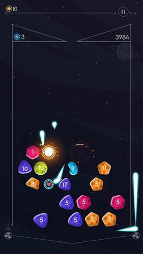 Jogue Gravity balls: Planet breaker para Android. Jogo Gravity balls: Planet breaker para download gratuito.