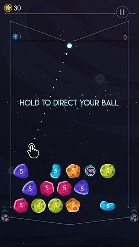 Screenshots do Gravity balls: Planet breaker - Perigoso para tablet e celular Android.