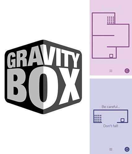 Gravity box: Minimalist physics game