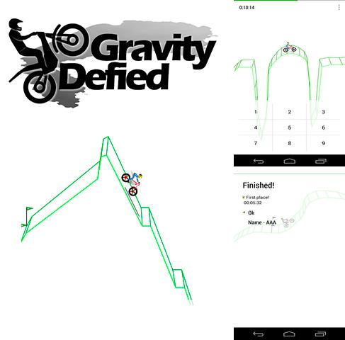 In addition to the game Gravity for Android phones and tablets, you can also download Gravity defied for free.