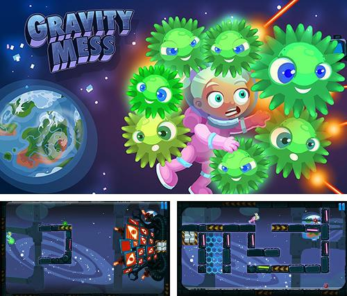 In addition to the game Pixel knight for Android phones and tablets, you can also download Gravity mess for free.