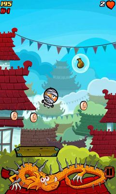 Screenshots von Gravity Ninja für Android-Tablet, Smartphone.