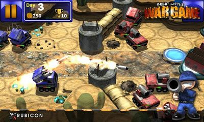 Screenshots von Great Little War Game für Android-Tablet, Smartphone.
