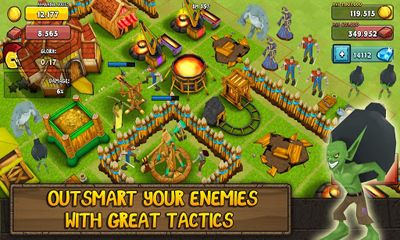 Screenshots von Greed for Glory für Android-Tablet, Smartphone.