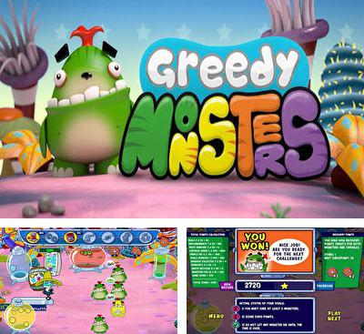 In addition to the game Solar Warfare for Android phones and tablets, you can also download Greedy Monsters for free.
