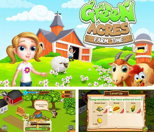 In addition to the game Green Farm for Android phones and tablets, you can also download Green acres: Farm time for free.