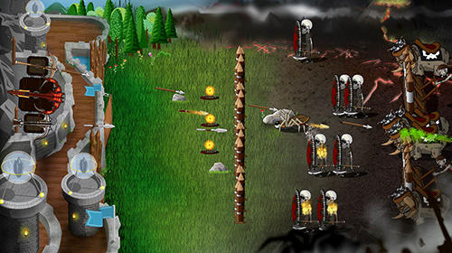 Kostenloses Android-Game Grim Defender: Schloss und Turmabwehr. Vollversion der Android-apk-App Hirschjäger: Die Grim defender: Castle and tower defense für Tablets und Telefone.