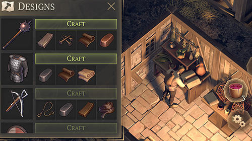 Screenshots von Grim soul: Dark fantasy survival für Android-Tablet, Smartphone.