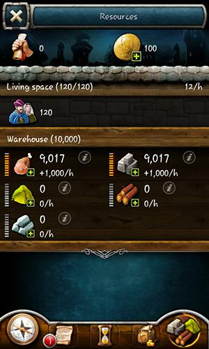 Screenshots do Grimfall: Strategy game - Perigoso para tablet e celular Android.