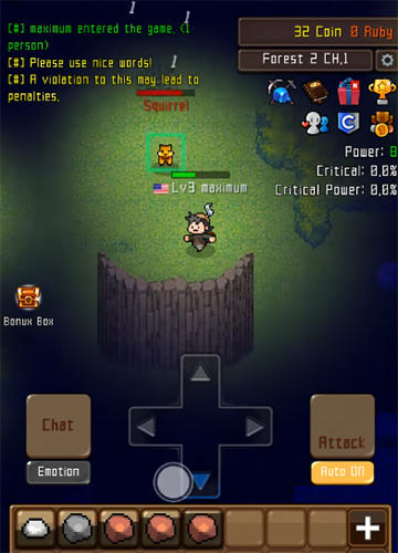Grow stone online: Idle RPG screenshot 3