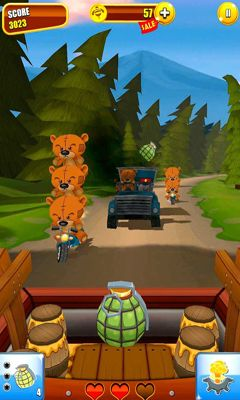 Screenshots of the Grumpy Bears for Android tablet, phone.