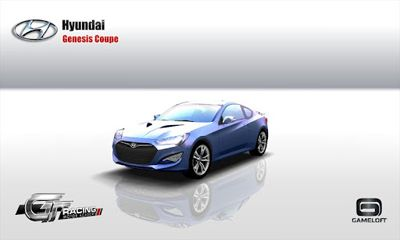 Screenshots von GT Racing: Hyundai Edition für Android-Tablet, Smartphone.
