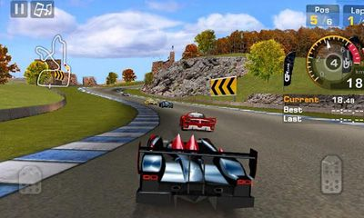 Screenshots von GT Racing Motor Academy HD für Android-Tablet, Smartphone.