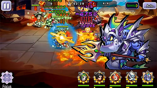 安卓平板、手机Guardians clash: An epic mobile fantasy RPG截图。