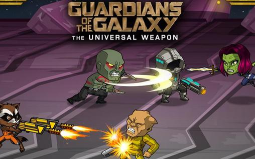 Guardians of the galaxy: The universal weapon poster