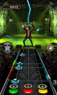 Download Guitar Hero: Warriors of Rock Android free game.